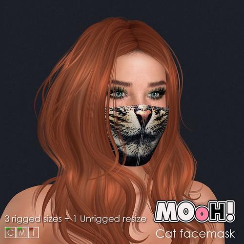 Cat facemask