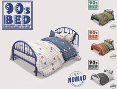 NOMAD // 90s Bed @ KUSTOM9