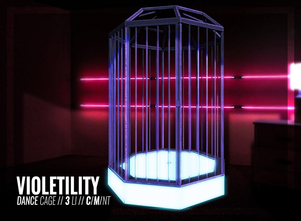Violetility – Dance Cage