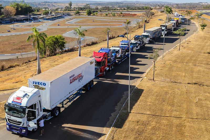 14/08/20 - Sexta-feira de montagem dos boxes da Copa Truck em Goiânia - Fotos: Duda Bairros