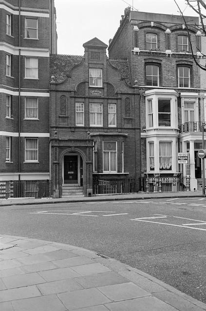Cheniston Lodge, Cheniston Gardens, Kensington, Kensington & Chelsea, 1987  87-11e-35-positive_2400