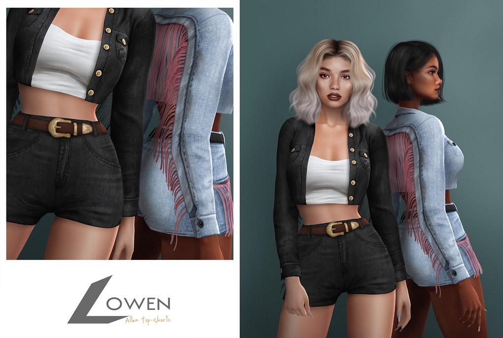 Lowen – Allen Outfit #KUSTOM9