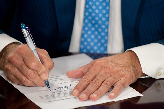 Ballot Paperwork Signing - Wilmington, DE - August 14, 2020