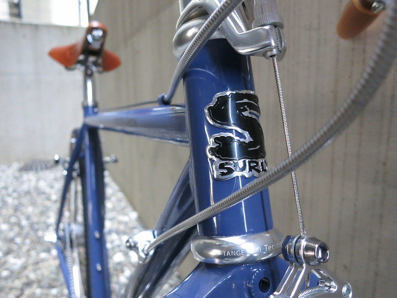 SURLY Cross Check Alfine Blue Hed
