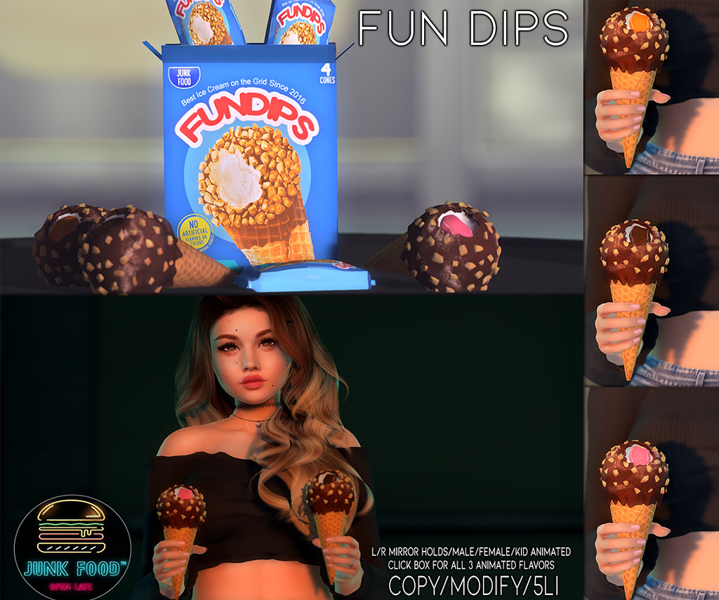 Junk Food - Fundips Ice Cream Ad