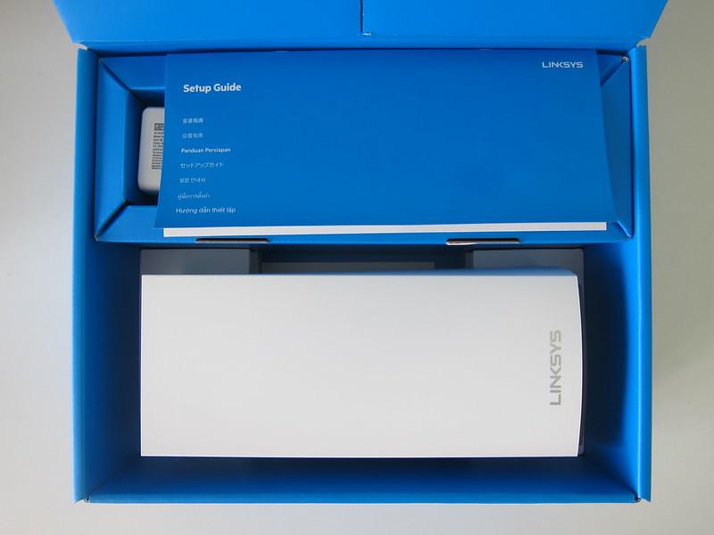 Linksys Velop MX5300 Wi-Fi 6 - Box Open