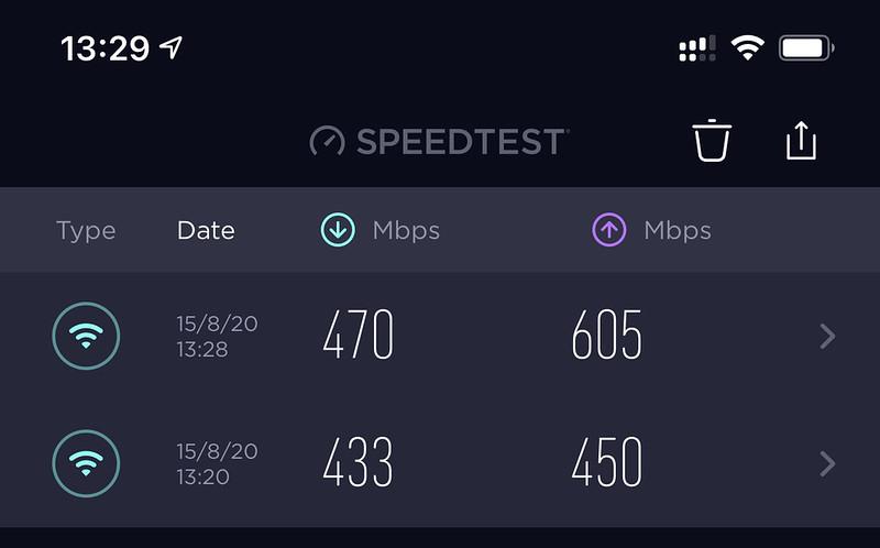 eero Pro vs Linksys Velop MX5300 - Speed Test