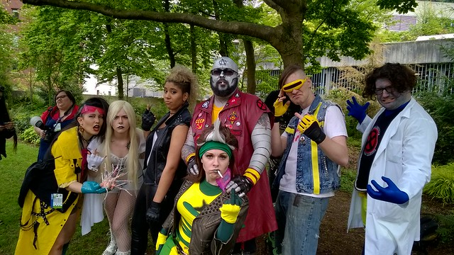 Punk X-Men, Emerald City Comic Con  04/10/2016