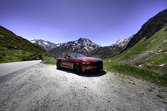 On the way to Oberalppass - Graubünden - Switzerland