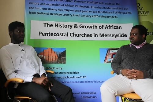 Simon and Pastor Olu
