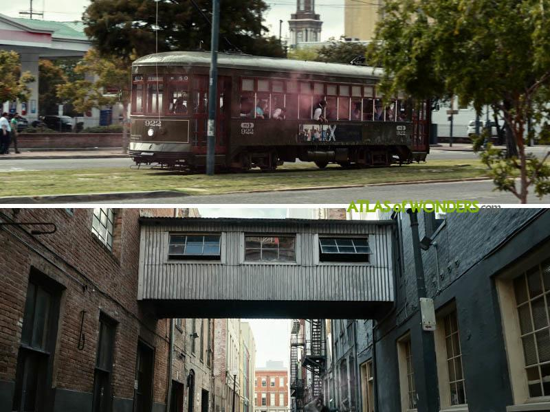 The NOLA streetcar