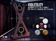 Violetility - Alchemy Cross