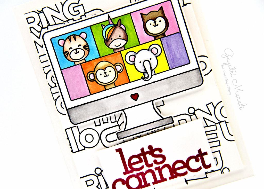 Let's connect card closeup1