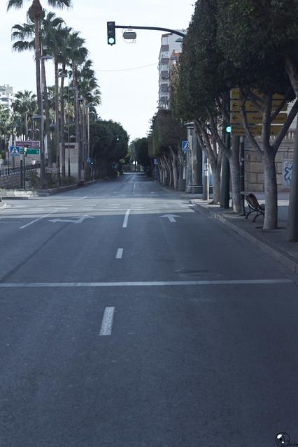 Álbum de confinamiento. 18:27 X 15-04-20. Almería.