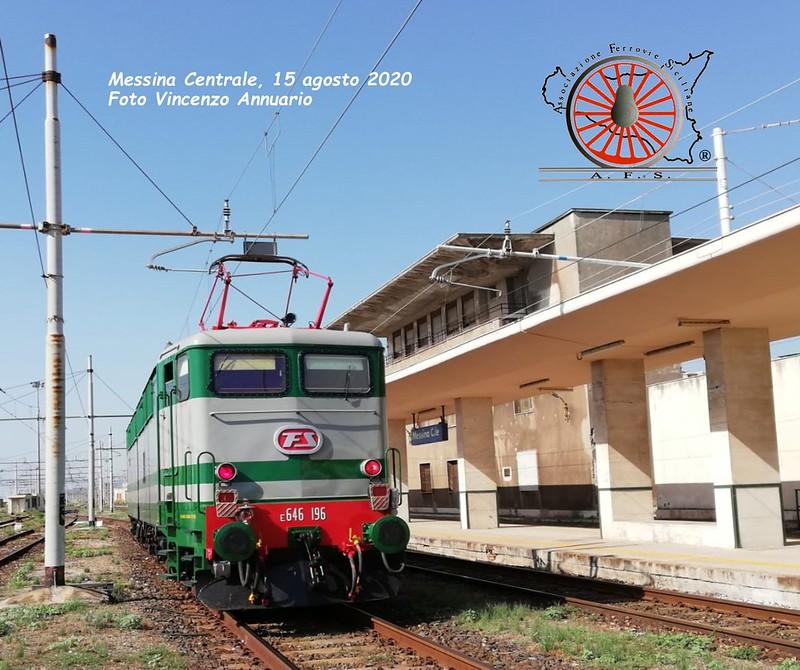 124 -Agosto 2020 - Torna in Sicilia la E.646.196 di Fondazione FS  50227738543_4fb0a5341b_c