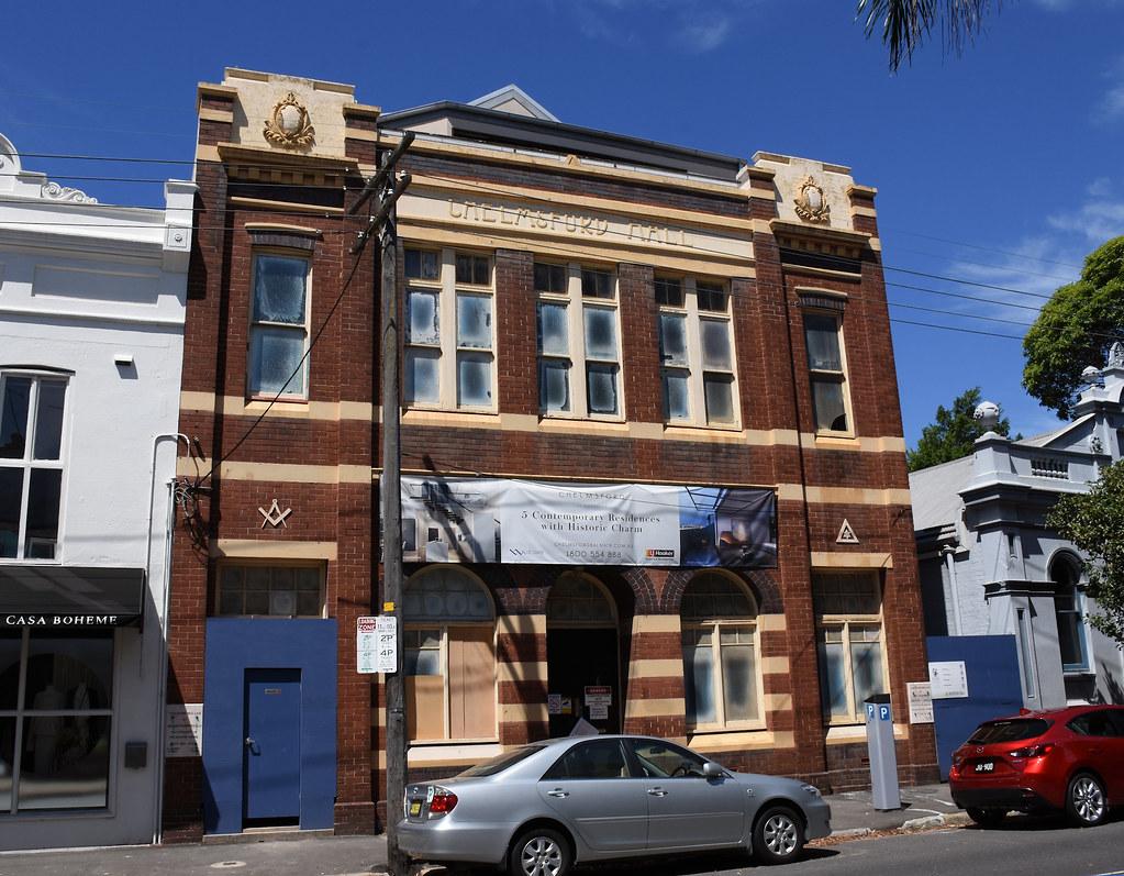 Chelmsford Hall, Balmain, Sydney, NSW.