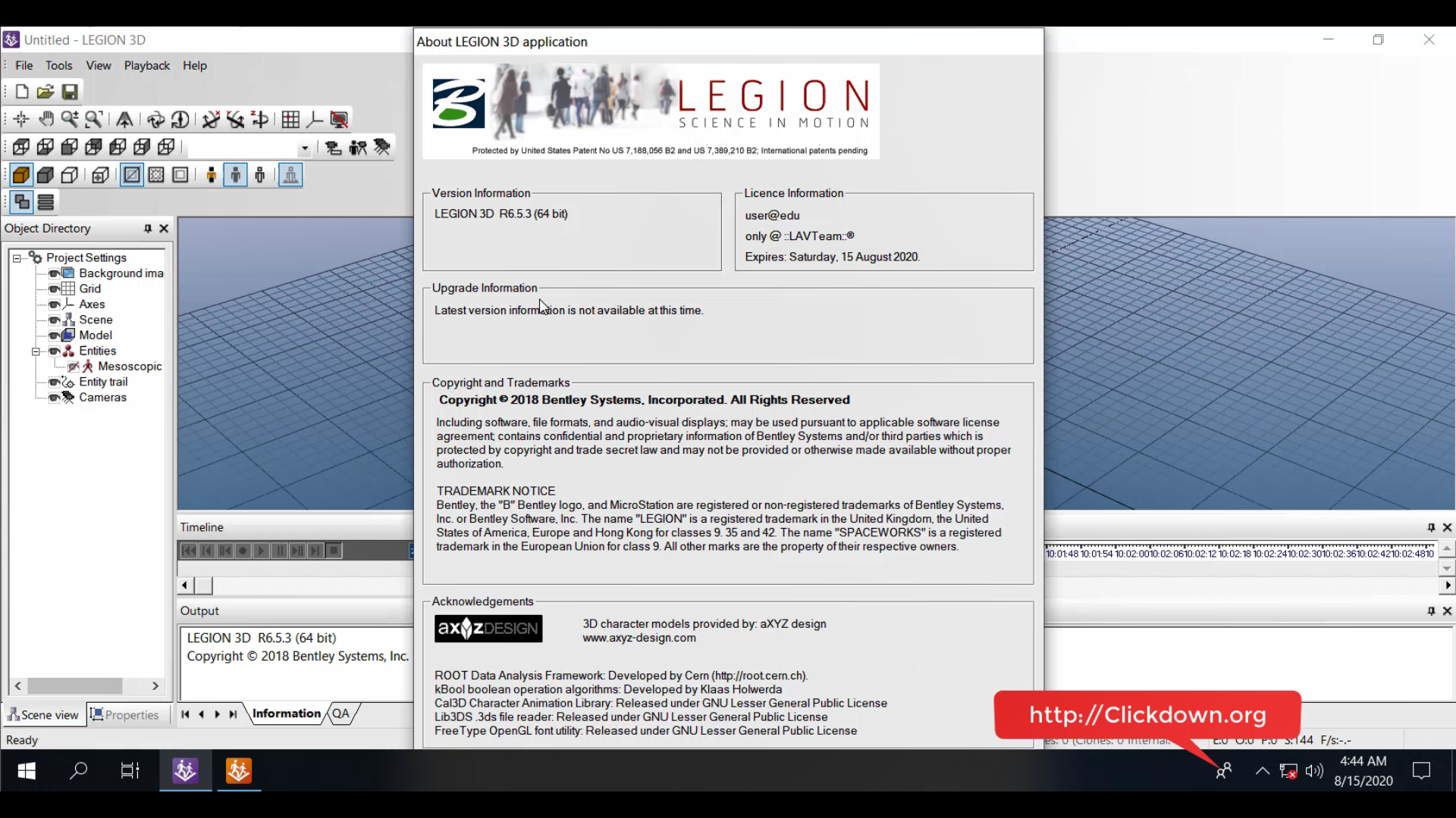 Working with Bentley LEGION R6.5.3 full license