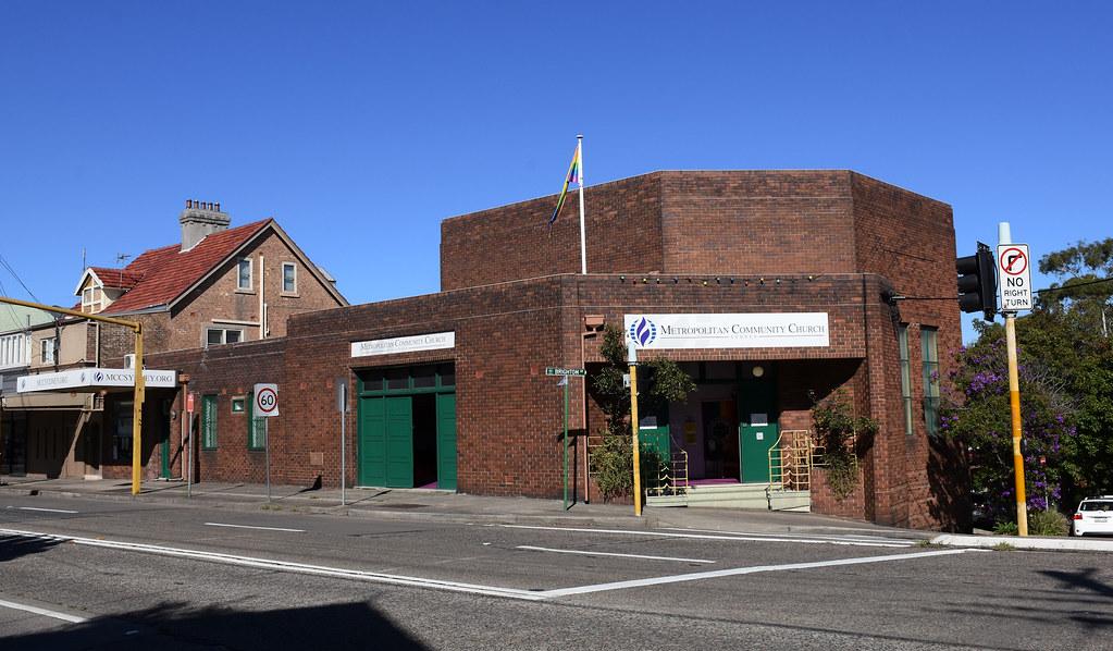 Metropolitan Community Church, Petersham, Sydney, NSW.