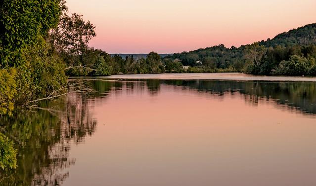 Pink River. Taken Week 29 out of 52