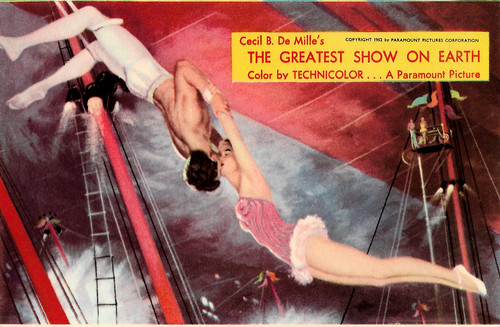 Betty Hutton and Cornel Wilde in The Greatest Show on Earth (1952)