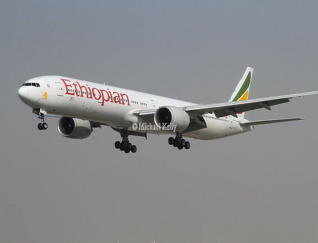 Ethiopian                                          Boeing 777                                       ET-APY