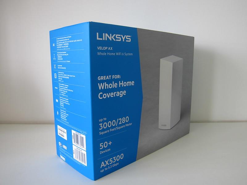 Linksys Velop MX5300 Wi-Fi 6 - Box