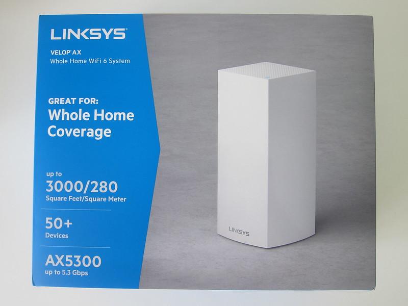 Linksys Velop MX5300 Wi-Fi 6 - Box Front