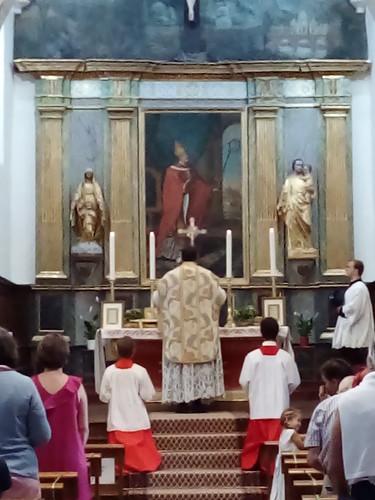 En el día de la Virgen,  católicos preconciliares.