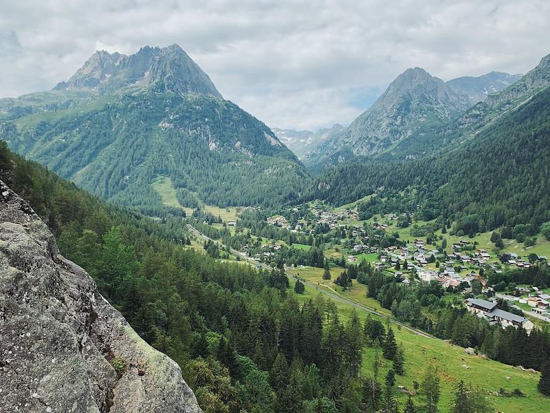 Chamonix kiipeily Vallorcine