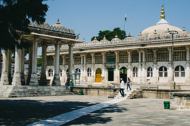 Sarkhej Roza Tomb complex, Makarba, Ahmadabad, Gujarat