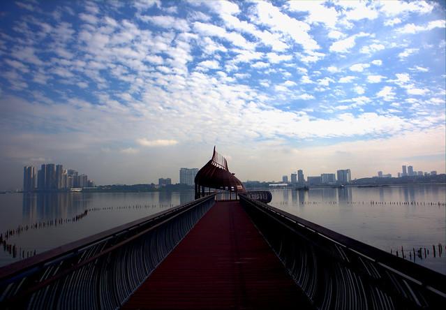 Eagle Point (overlooking Johor Bahru, Malaysia)