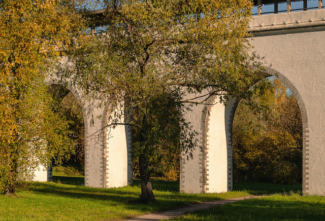 Aqueduct in Moscow