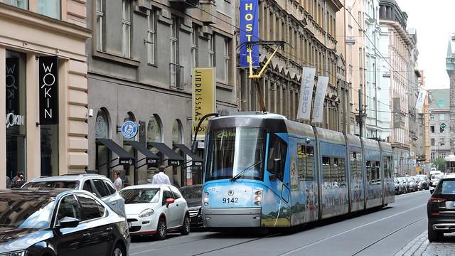 2020-07-23 Prague Tramway Nr.9142
