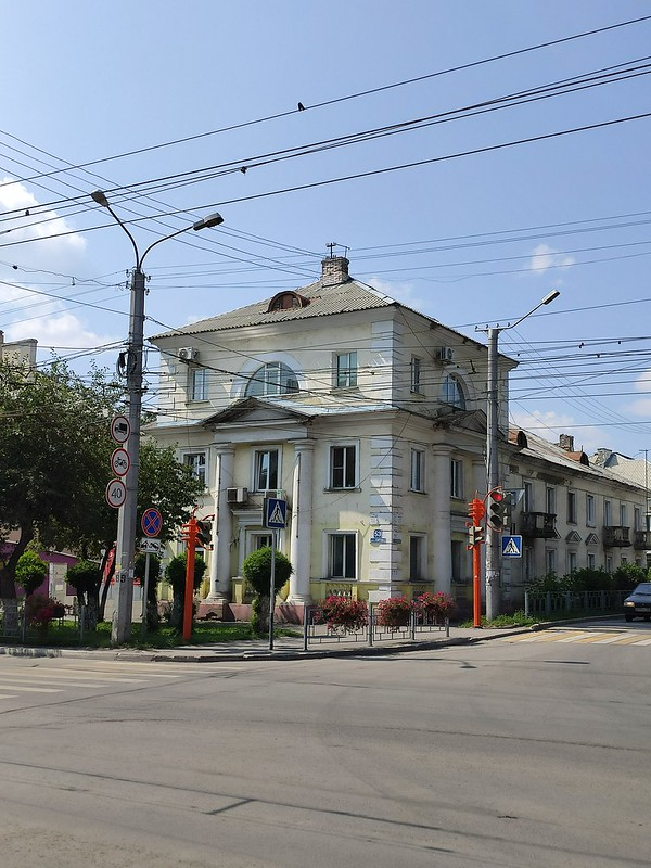 Ленинск-Кузнецкий - Старый дом
