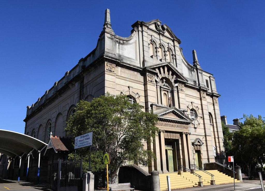 St Vincent's Catholic Church, Ashfield, Sydney, NSW.