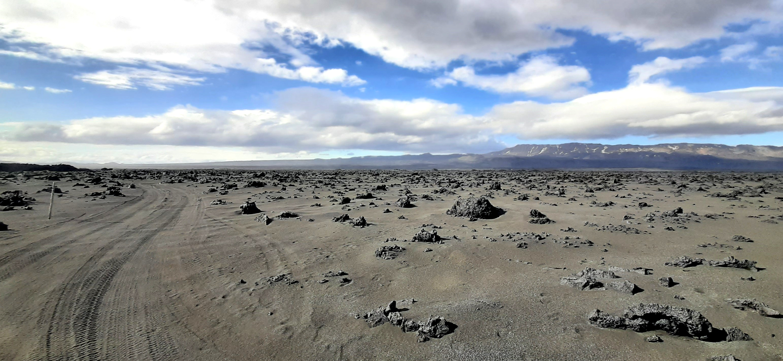 Holuhraun lava field, road F910