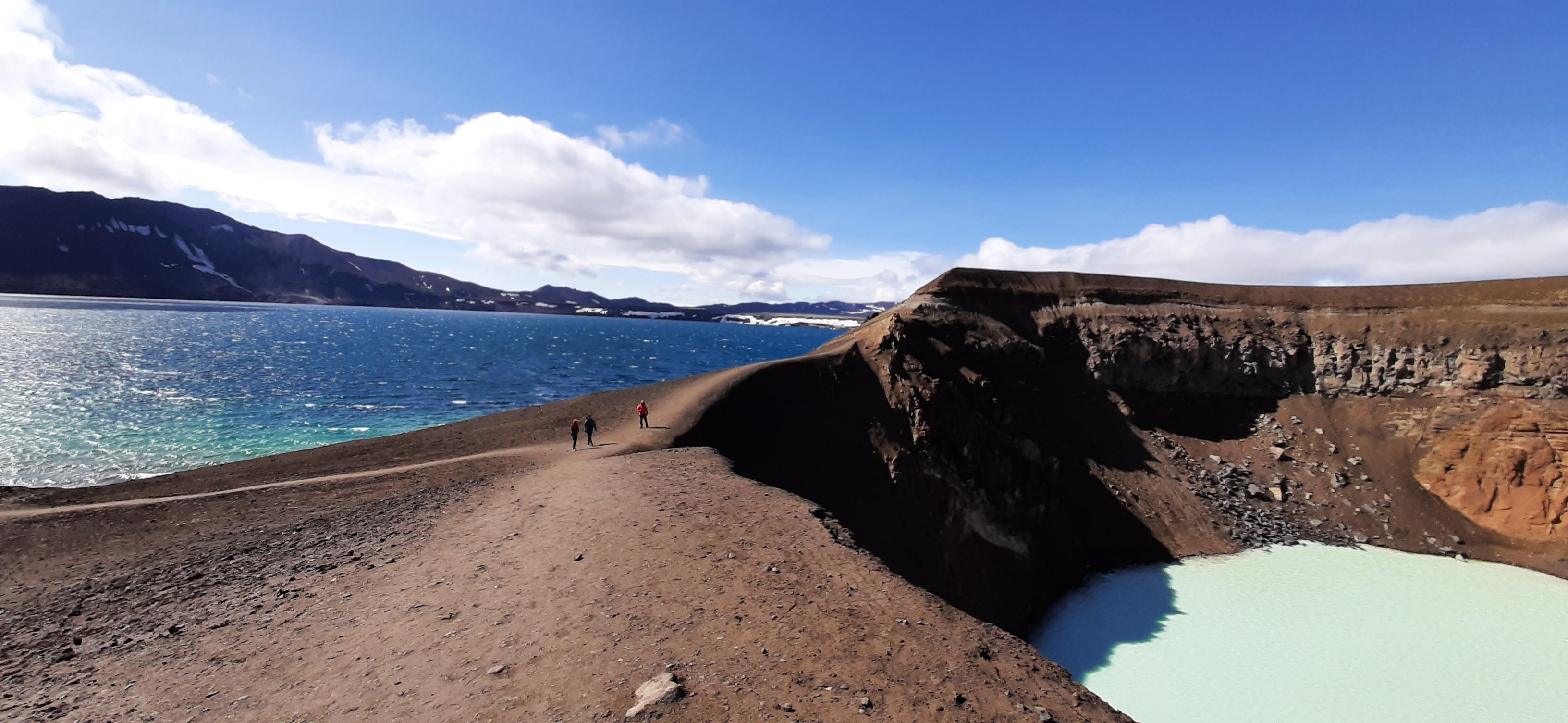 Askja Caldera, Öskjuvatn Lake & Viti Crater