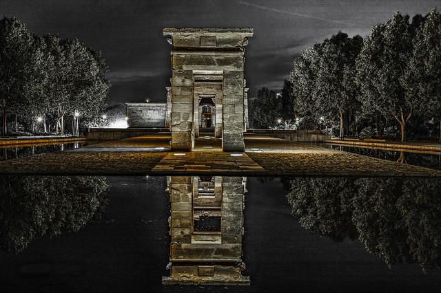 Templo de Debod-Madrid-España