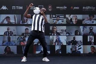 Apresentação de Kalou do Botafogo - 15/08/2020