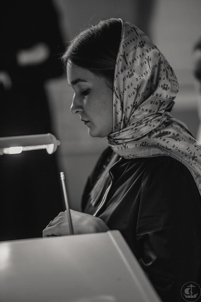 15 августа 2020, Вступительные экзамены на факультет церковных искусств. День 1 / 15 August 2020, Entrance exam for faculty of Church Arts. Day 1