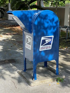 US Post Office Mail Box Still Standing | by Phillip Pessar