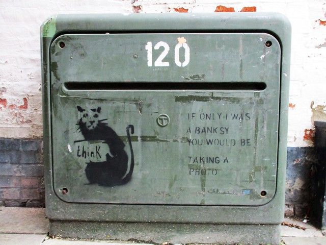 IF ONLY I WAS A BANKSY...