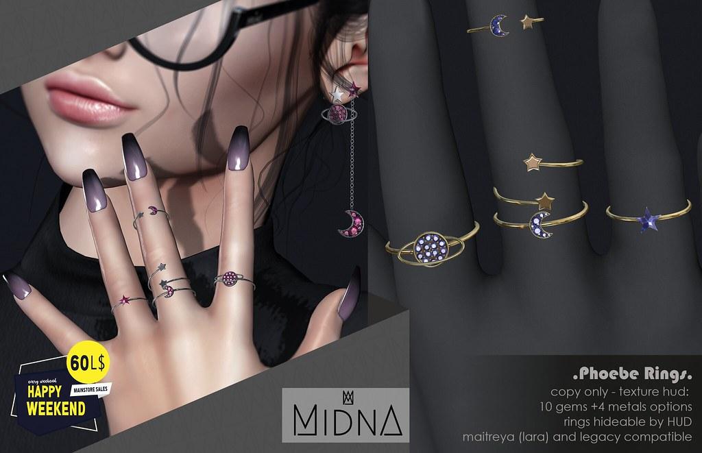 Midna – Phoebe Rings Set