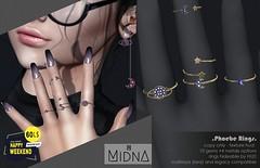 Midna - Phoebe Rings Set
