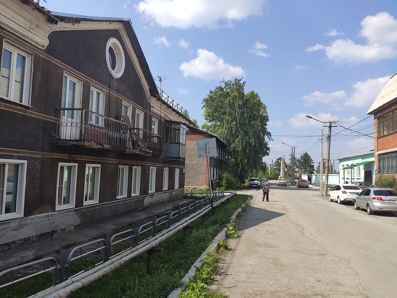 Ленинск-Кузнецкий - Улица Земцова