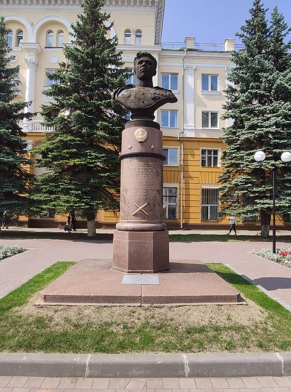 Ленинск-Кузнецкий - Бюст Афанасия Петровича Шилина
