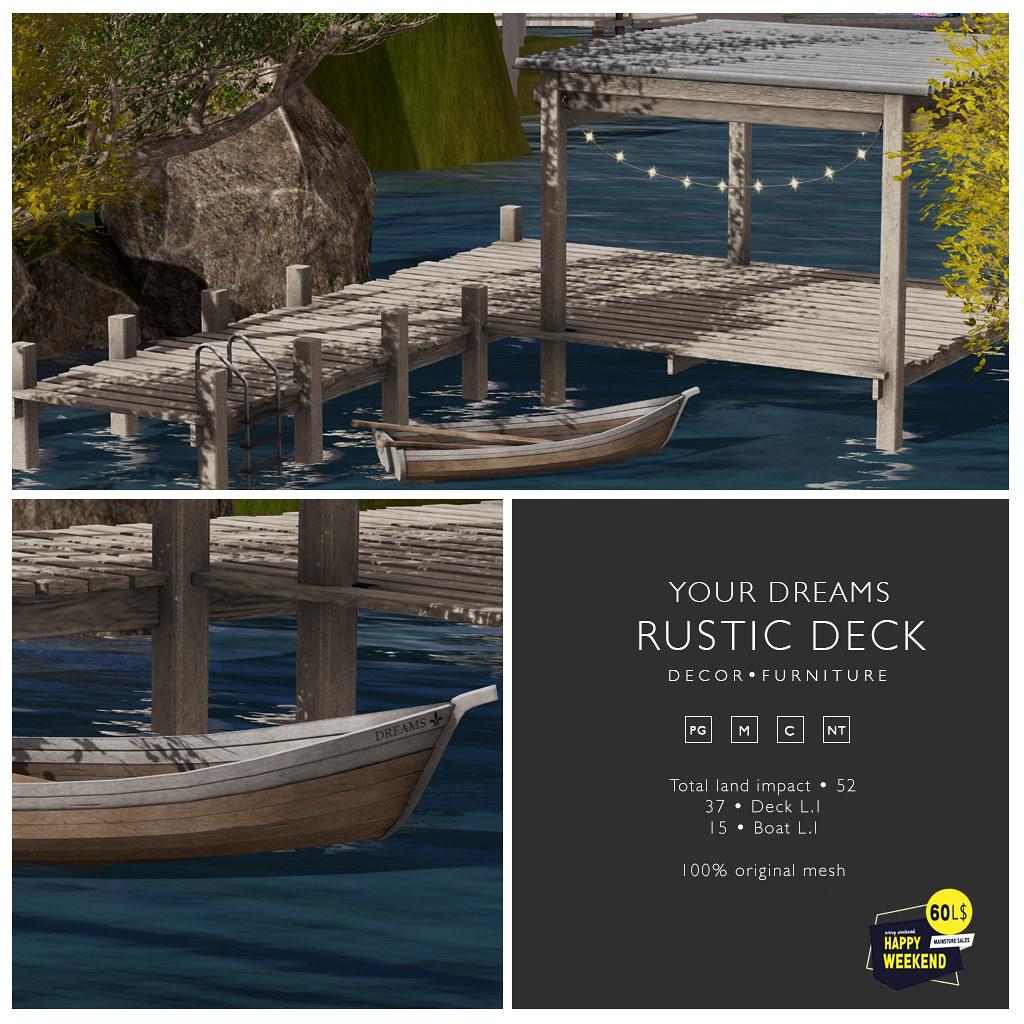 {YD} Rustic Deck