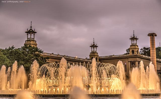 Fuente Mágica del Montjuic,Barcelona