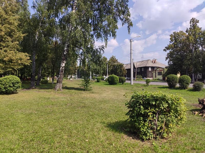 Ленинск-Кузнецкий - Малоэтажный район