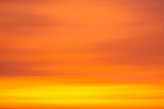 Sunset Sky, Lima, Peru